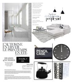 """""""SIGNATURE"""" by ironono on Polyvore featuring interior, interiors, interior design, ホーム, home decor, interior decorating, Gus* Modern, Driade, Zuo と Dot & Bo"""