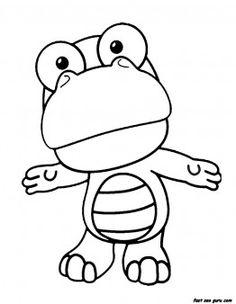 Printable Disney Pororo the Little Penguin Crong coloring pages - Printable Coloring Pages For Kids