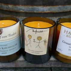Let me pick out an individual apidae wine bottle beeswax candle for you. Euro 29,- #bienenwachskerzen www.apidaecandles.de