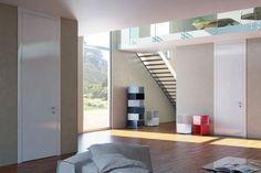 Εσωτερική πόρτα Ego Catalog, Loft, Blue And White, Furniture, Home Decor, Decoration Home, Room Decor, Brochures, Lofts