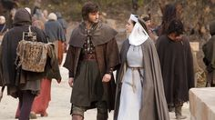 """Merthin and Caris from """"World Without End"""" (2012) 