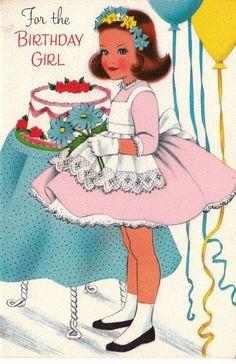 Happy Birthday Images Art Vintage Postcards New Ideas Happy Birthday 1, Happy Birthday Vintage, Happy Birthday Quotes, Happy Birthday Images, Happy Birthday Greetings, Birthday Wishes, Girl Birthday, Retro Birthday, Birthday Cake