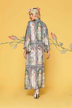 Black Milk Clothing. Times Of The Day Swan Kimono. OSFA