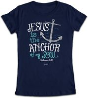 Jesus Is The Anchor Junior T-Shirt