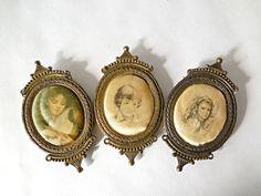 Image result for italian silk brass frames