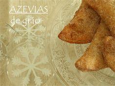 Mesa Corrida: Azevias de grão / Chickpea pastries