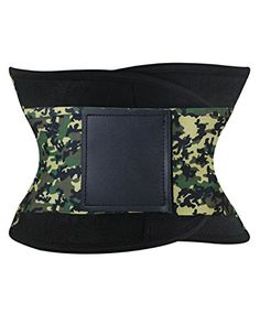 Burvogue Womens Slimming Waist Trainers Cincher Tummy Trimmer Belt Medium Camo *** More info could be found at the image url.