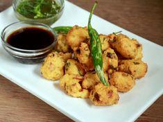 Moong Bhajji Recipe (Moong Fritters)