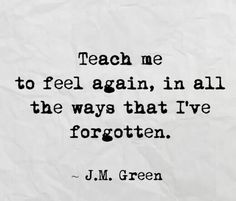 Teach Me like only you can