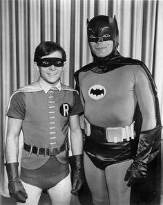 Batman and Robin Batman 1966, Batman And Superman, Batman Robin, Batman Stuff, Batman Show, Batman Tv Series, Dc Comics Heroes, Batman Comics, Batman Painting