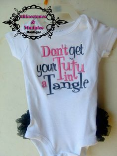 Don't get your tutu in a tangle- Cuteness overload!