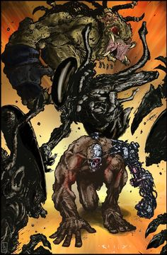 Alien-Predator-Terminator