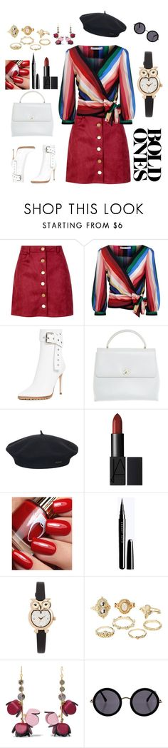 """The Way I Like It"" by m-aviles-ma ❤ liked on Polyvore featuring Boohoo, Alice + Olivia, Monse, Chanel, Element, Kate Spade, Charlotte Russe, Marni and The Row"