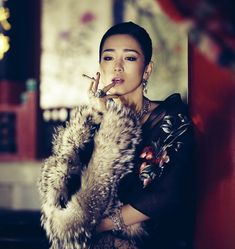 Gong Li - not exactly classic, but she was in a lot of Chinese costume dramas that are amazing...love her!