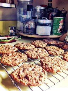Oatmeal Stout Cookies with Bacon