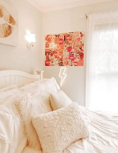 Bedroom Decor For Teen Girls, Room Ideas Bedroom, Home Decor Bedroom, Bedroom Inspo, Bedroom Inspiration, Dorm Room Designs, Cute Room Ideas, Aesthetic Room Decor, Cozy Room
