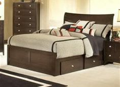 king size bed frame with drawers - Bing Images