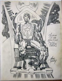 Metron of the New Gods Cap'n's Comics: Some Jack Kirby from the Amazing Valentine for Roz