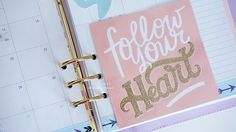 DIY Planner Dividers and Journal Cards