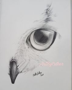 My drawing of the owl is ready I was inspired bij Kayleigh Foley. Done on A4 with graphit.  #art #artwork #drawing #drawingart #handmadewithlove #blackandwhite #instaart