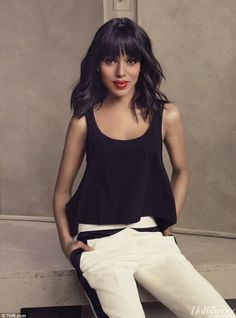 Hollywood Reporter Magazine - Kerry Washington