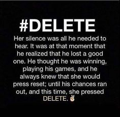 #DELETE..... I have done this and will do again if I ever need to...No quams what so ever...~angel-eyez~...