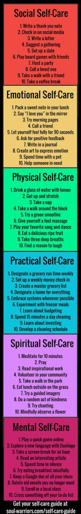 60 Simple Self-Care Ideas