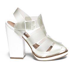Steve Madden Women's Hi-Top Sandals ($55) ❤ liked on Polyvore