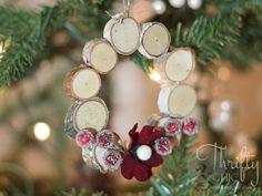 Mini Woodland Wreath   - CountryLiving.com