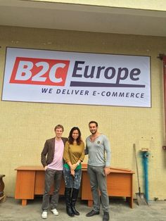 The B2C Europe team in China celebrated a milestone with the opening of its warehouse in Guangzhou. 19.05.2014