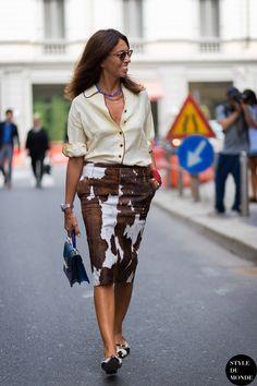 Milan FW SS15 Street Style: Viviana Volpicella