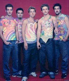 NSYNC dressed…like…this: | The 50 Most '90s Things That Have Ever Happened