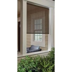 Coolaroo Sesame Exterior Roller Shade - 48 in. W x 72 in. L-462109 - The Home Depot