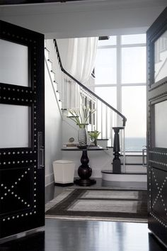 contemporary entry by LDa Architecture & Interiors