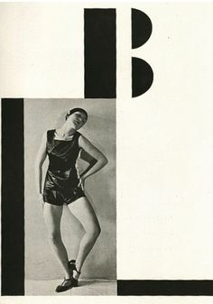 Typography & photomontage by Karel Teige, 1926, Pantomima, Dances performed by Milča Mayerová, Prague. #Czech_Avant_Garde