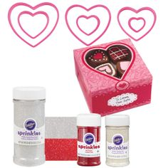 Sparkling Hearts Cookie Kit