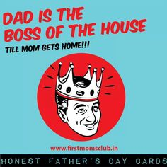 Honest Father's Day card #1