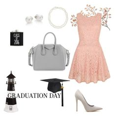 """""""Spring Graduation"""" by bellsandbows ❤ liked on Polyvore featuring DutchCrafters, Yumi, Chico's, Mikimoto, Givenchy and graduationdaydress"""