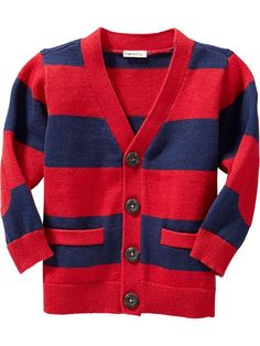 Striped V-Neck Cardigans for Baby Product Image