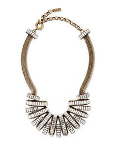 Stella Crystal Statement Necklace by Auden at Neiman Marcus.