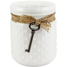 seashell soy wax candle embellished with sea shells and mother of, Hause ideen