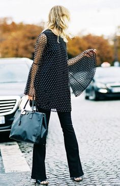 flare womens models fashion winter outfits 2016 trends