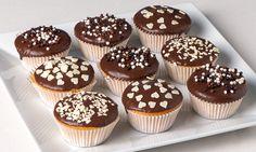 Cupcake banane e cioccolato