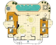 The Plantation Loft Penthouse Floor Plans