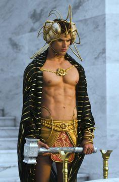 Kellan Lutz as Poseidon/Neptune - The Immortals <3