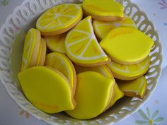 Lemon cookies!