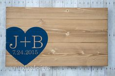 Hey, I found this really awesome Etsy listing at https://www.etsy.com/listing/156720811/wood-wedding-guest-book-alternative-with