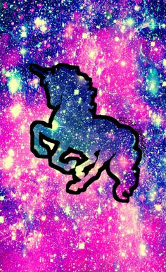 Sweet unicorn galaxy wallpaper I created for the app CocoPPa!