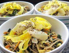 Japanischer Nudelsalat nach Art des Hauses - Rezept - ichkoche.at