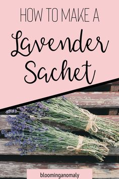 Do you grow lavender and are not sure what to do with it? Create your very own lavender sachet with dried lavender flowers. Click on the pin to watch a video on how to make lavender sachets. #lavender #driedlavender #lavenderflowers #sachets Lavender Uses, Dried Lavender Flowers, Growing Lavender, Lavender Sachets, Growing Herbs, Healing Herbs, Medicinal Herbs, Beautiful Home Gardens, Garden Gifts